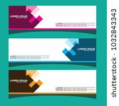 vector design banner... | Shutterstock .eps vector #1032843343