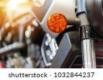 close up of a modern motorbike...   Shutterstock . vector #1032844237