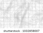 topographic map background... | Shutterstock .eps vector #1032858007