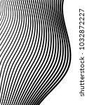 white black color. linear... | Shutterstock .eps vector #1032872227