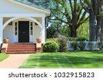 beautiful exterior house in... | Shutterstock . vector #1032915823