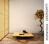interior design modern living...   Shutterstock . vector #1032923977