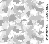 camouflage seamless pattern.... | Shutterstock .eps vector #1032925837