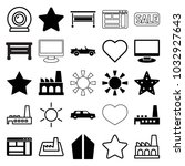 Contemporary Icons. Set Of 25...