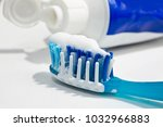Small photo of Toothbrush with paste