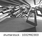 abstract geometric concrete...   Shutterstock . vector #1032982303