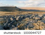 wild boar fell from swarth fell ... | Shutterstock . vector #1033044727