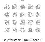 school subjects well crafted... | Shutterstock .eps vector #1033052653