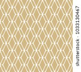 golden mesh seamless pattern.... | Shutterstock .eps vector #1033130467