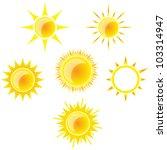 suns set | Shutterstock .eps vector #103314947