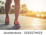 man workout wellness concept  ... | Shutterstock . vector #1033174423