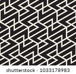 vector seamless pattern. modern ...   Shutterstock .eps vector #1033178983