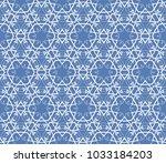 modern geometric ornament.... | Shutterstock .eps vector #1033184203