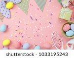table top view shot of...   Shutterstock . vector #1033195243