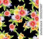 abstract elegance seamless... | Shutterstock . vector #1033219687