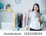 sale of online asian woman... | Shutterstock . vector #1033238203