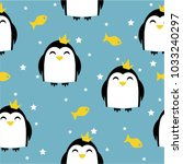 children's seamless pattern...   Shutterstock .eps vector #1033240297