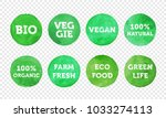 bio  veggie  farm fresh  vegan  ... | Shutterstock .eps vector #1033274113