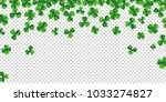 patrick day background with... | Shutterstock .eps vector #1033274827