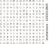 chat icon set. collection of... | Shutterstock .eps vector #1033313803