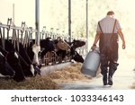 farmer asian are holding a... | Shutterstock . vector #1033346143