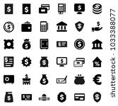 flat vector icon set   school... | Shutterstock .eps vector #1033388077