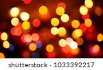 out of focus multicolored... | Shutterstock . vector #1033392217