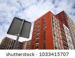 high up modern apartment... | Shutterstock . vector #1033415707