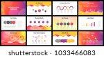business presentation templates.... | Shutterstock .eps vector #1033466083