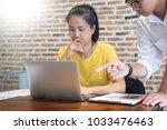 creative team job. young...   Shutterstock . vector #1033476463
