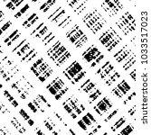 black and white grunge stripe... | Shutterstock .eps vector #1033517023