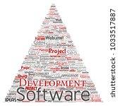 vector conceptual software...   Shutterstock .eps vector #1033517887
