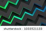 abstract 3d rendering of... | Shutterstock . vector #1033521133