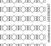 geometric ornamental vector... | Shutterstock .eps vector #1033582837