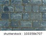 gray tiles floor stones texture | Shutterstock . vector #1033586707