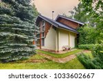 russia  a country house and...   Shutterstock . vector #1033602667