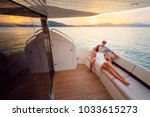 romantic vacation and luxury... | Shutterstock . vector #1033615273