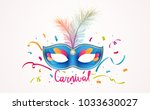 carnival lettering with... | Shutterstock .eps vector #1033630027