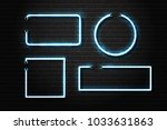 vector set of realistic... | Shutterstock .eps vector #1033631863
