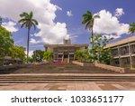 belmopan  belize   august 7 ... | Shutterstock . vector #1033651177