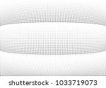 abstract halftone wave dotted... | Shutterstock .eps vector #1033719073