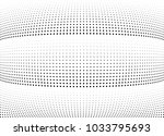 abstract halftone wave dotted... | Shutterstock .eps vector #1033795693