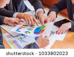 business people meeting design... | Shutterstock . vector #1033802023