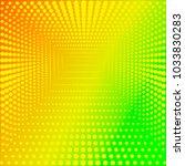 pop art summer background.... | Shutterstock .eps vector #1033830283