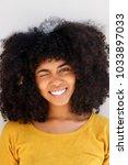 close up portrait of pretty... | Shutterstock . vector #1033897033