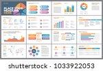 presentation template design.... | Shutterstock .eps vector #1033922053