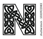 letter of the english alphabet... | Shutterstock .eps vector #1033922083