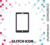 smartphone  glitch effect...