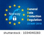 gdpr   general data protection... | Shutterstock .eps vector #1034040283