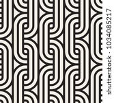 vector seamless lattice pattern.... | Shutterstock .eps vector #1034085217